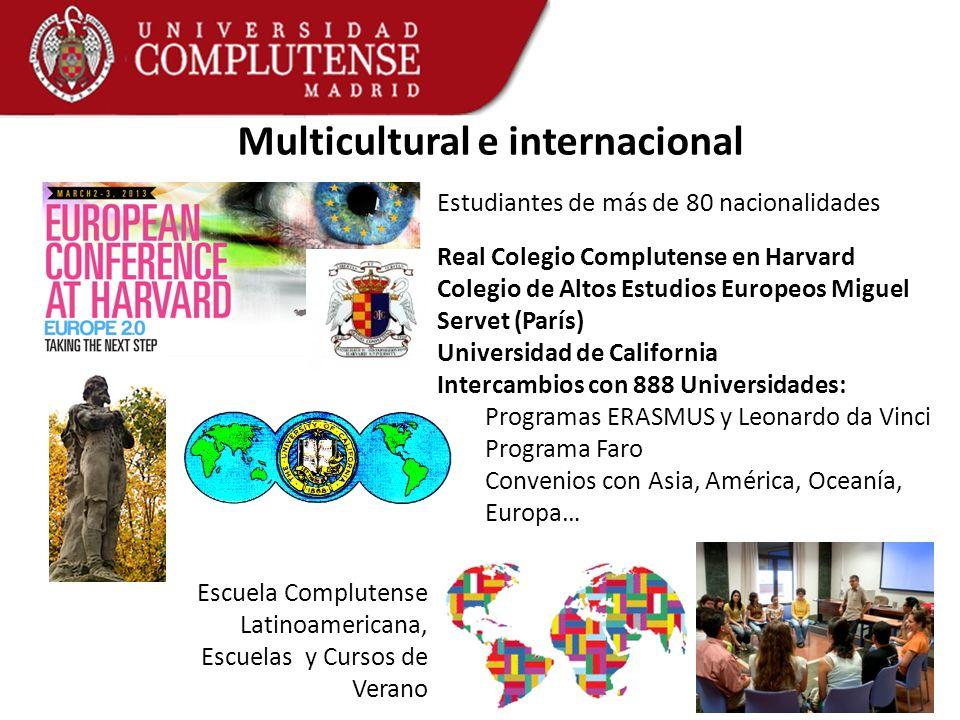 Multicultural e internacional