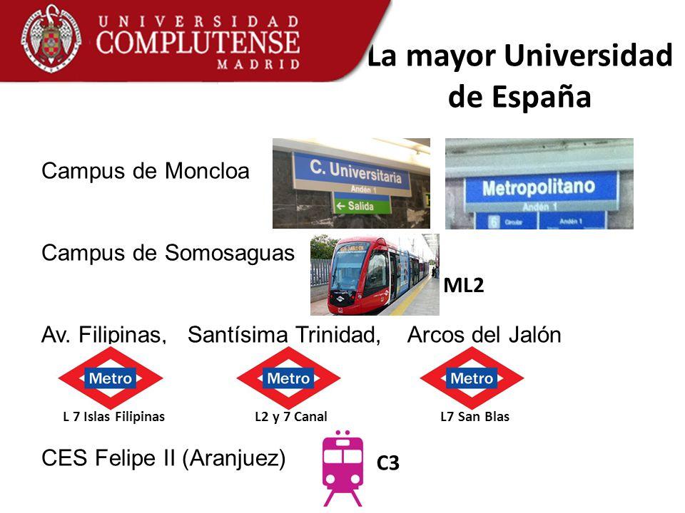 La mayor Universidad de España