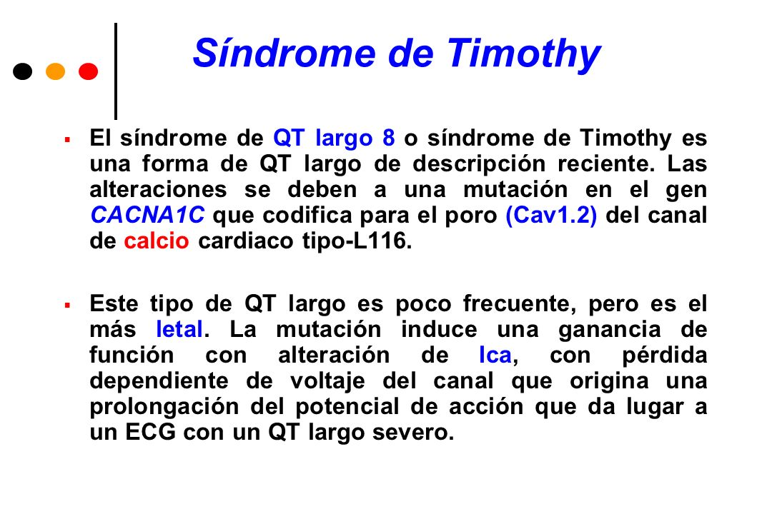 Síndrome de Timothy