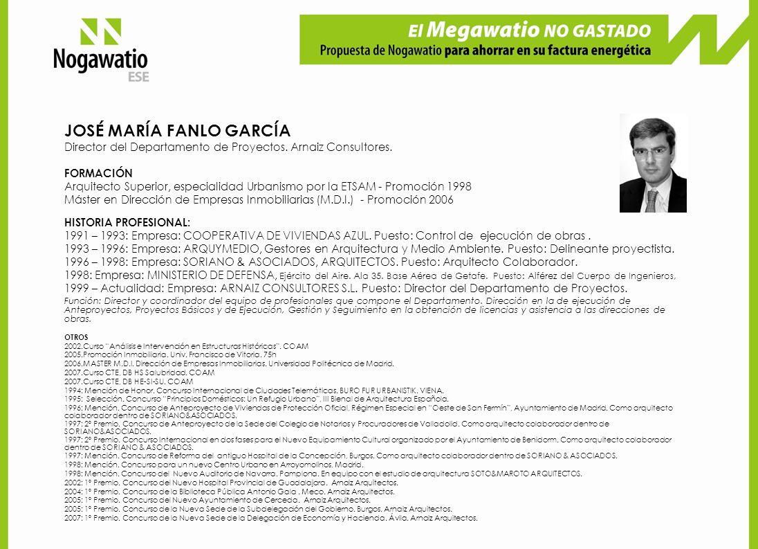 JOSÉ MARÍA FANLO GARCÍA