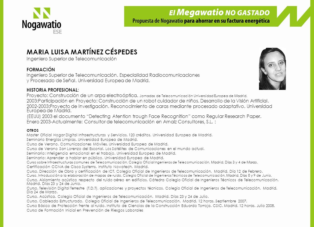 MARIA LUISA MARTÍNEZ CÉSPEDES