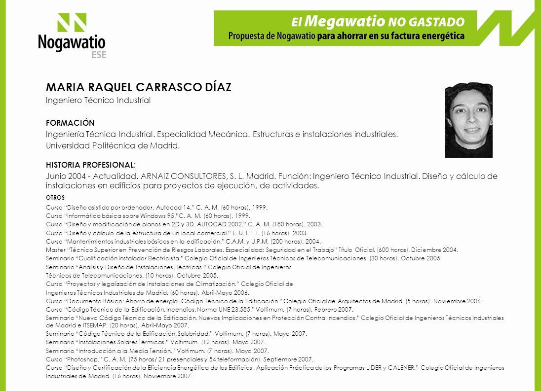 MARIA RAQUEL CARRASCO DÍAZ