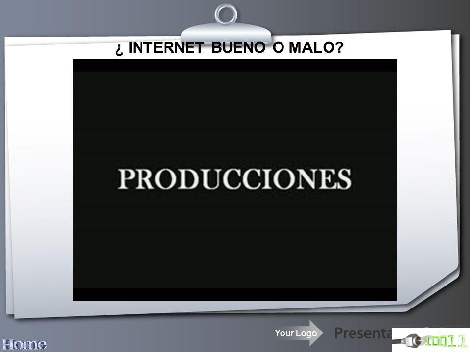 ¿ INTERNET BUENO O MALO