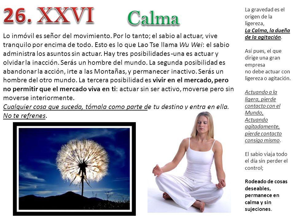 26. XXVI Calma.