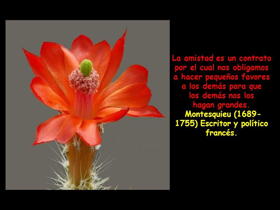 Montesquieu (1689-1755) Escritor y político francés.