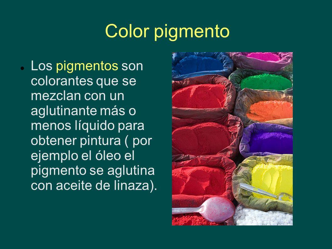Color pigmento