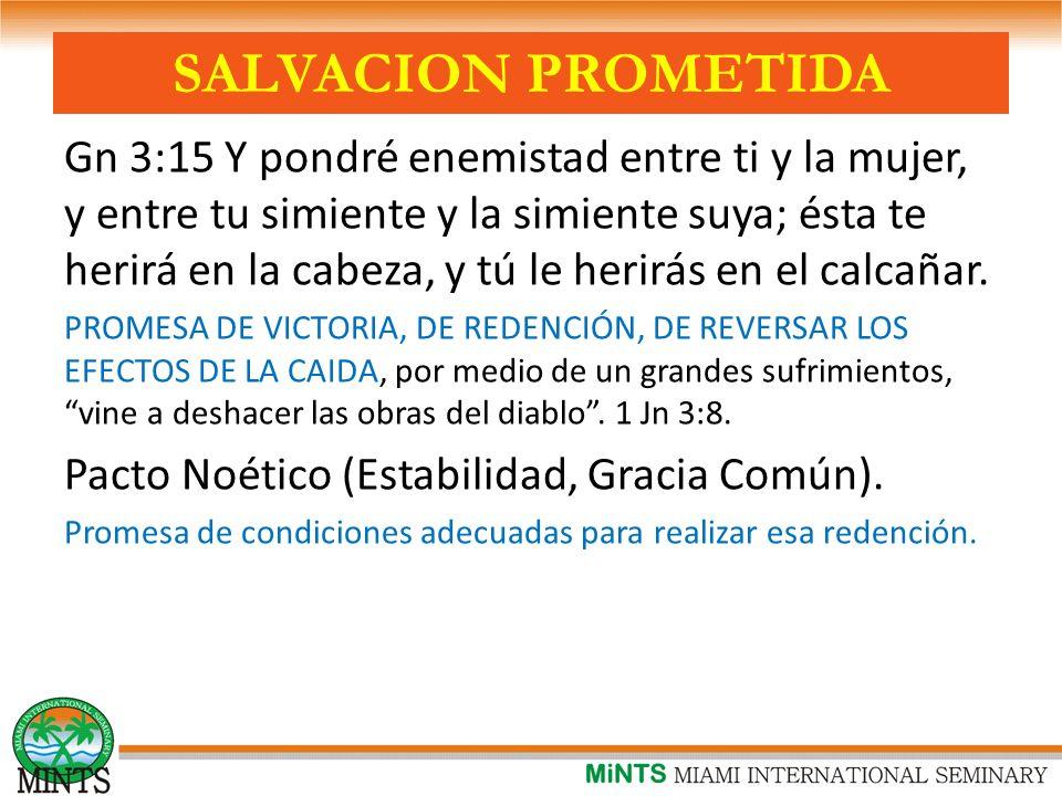 SALVACION PROMETIDA