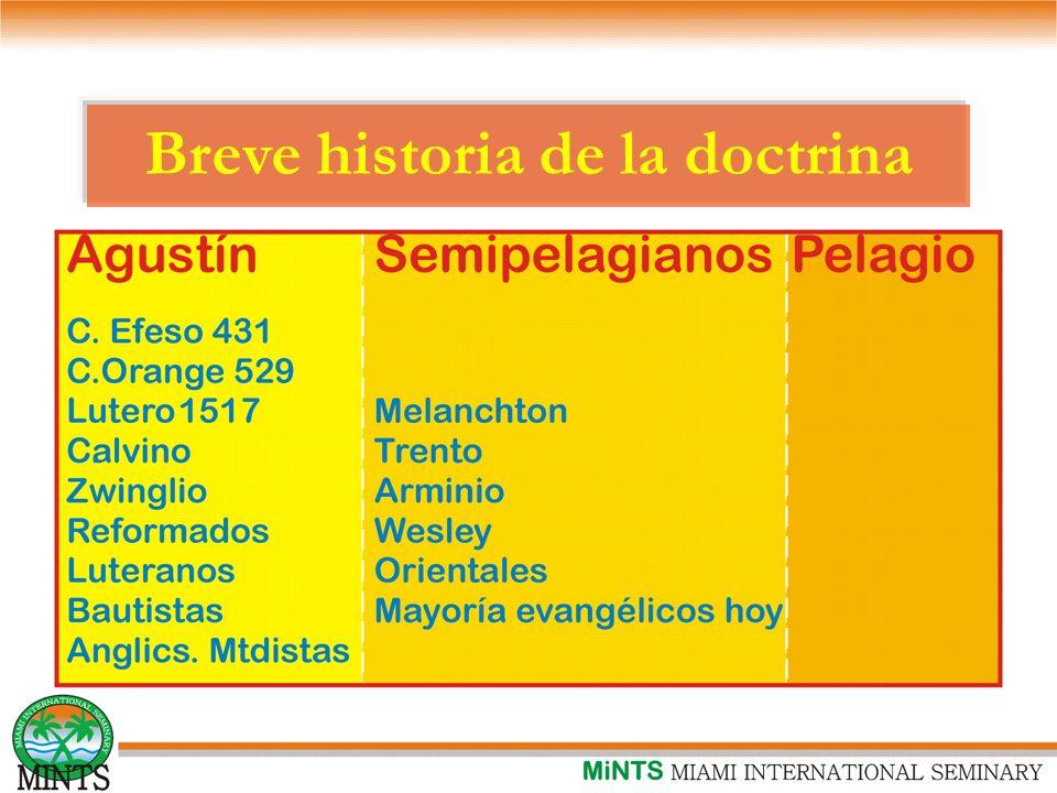 Breve historia de la doctrina