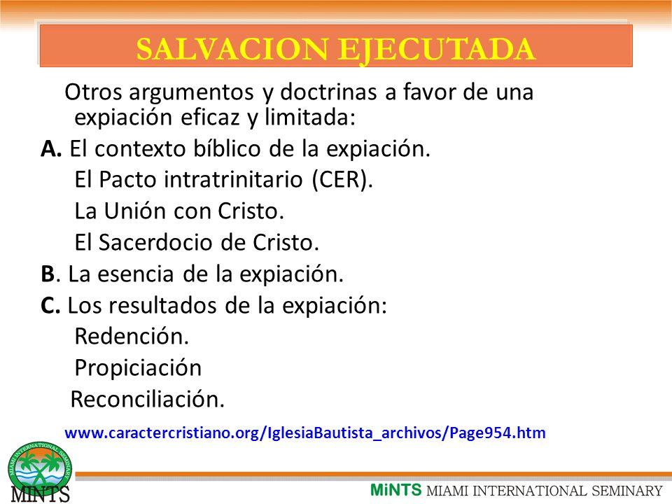 SALVACION EJECUTADA