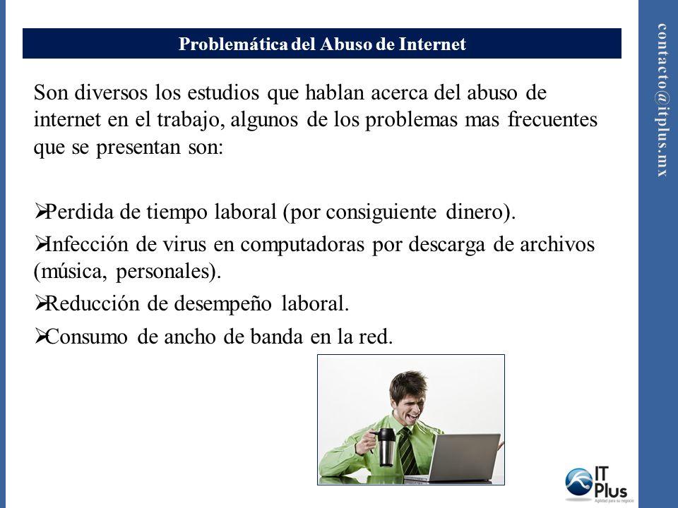 Problemática del Abuso de Internet