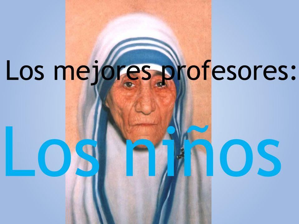 Los mejores profesores: