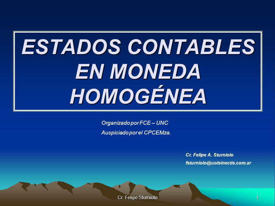ESTADOS CONTABLES EN MONEDA HOMOGÉNEA