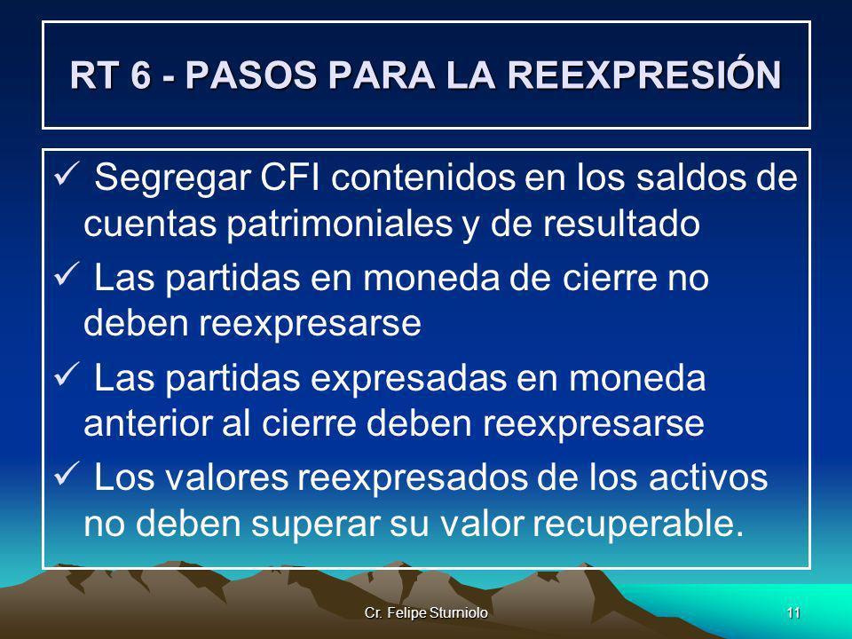RT 6 - PASOS PARA LA REEXPRESIÓN