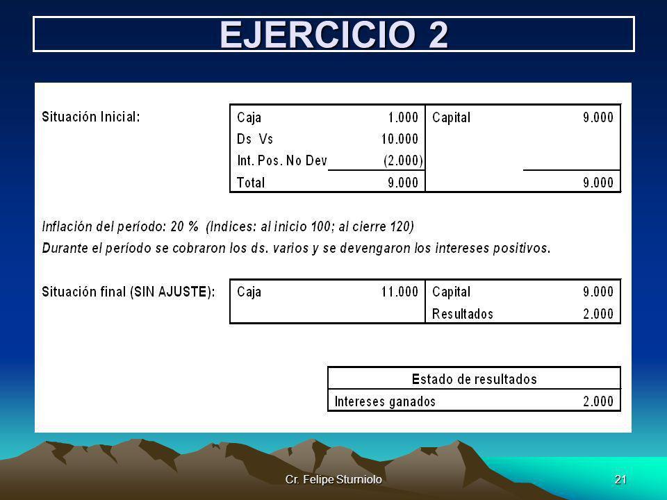EJERCICIO 2 Cr. Felipe Sturniolo