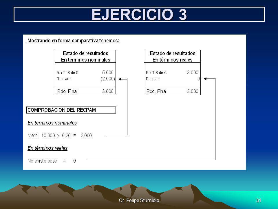 EJERCICIO 3 Cr. Felipe Sturniolo