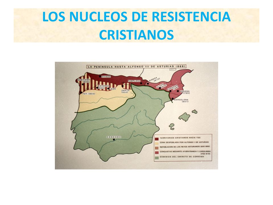 LOS NUCLEOS DE RESISTENCIA CRISTIANOS