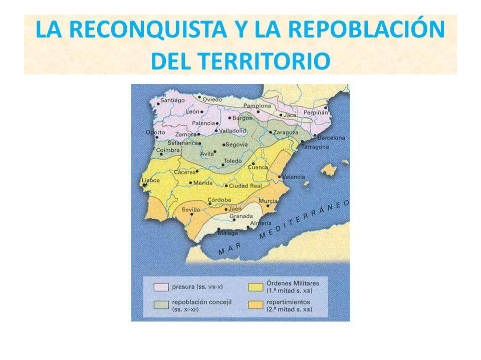 LA RECONQUISTA Y LA REPOBLACIÓN DEL TERRITORIO