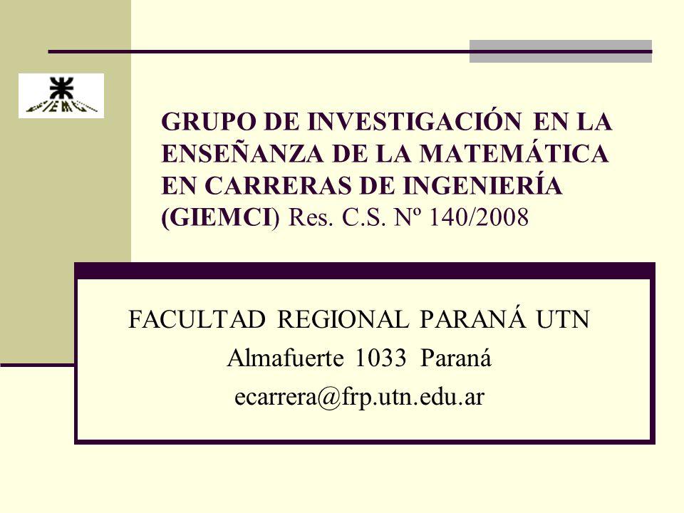 FACULTAD REGIONAL PARANÁ UTN