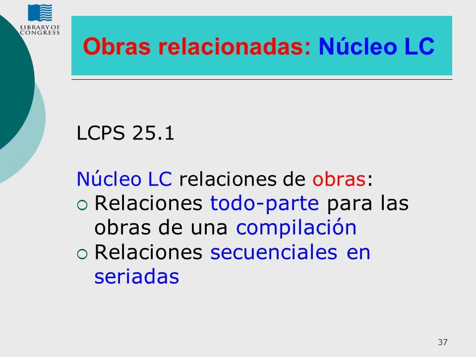 Obras relacionadas: Núcleo LC