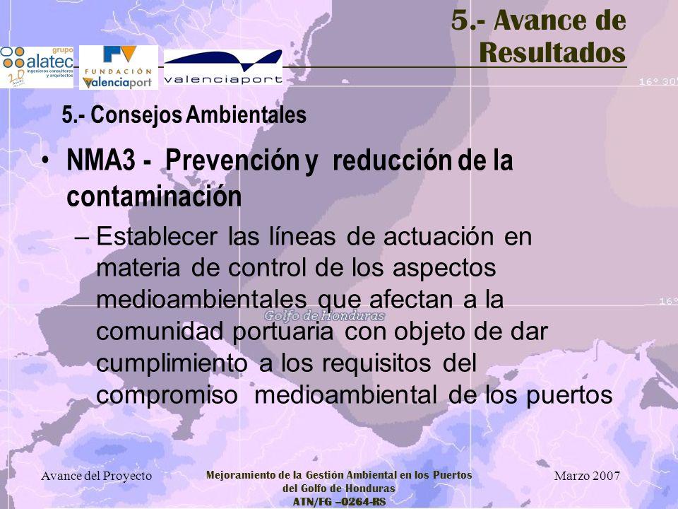NMA3 - Prevención y reducción de la contaminación