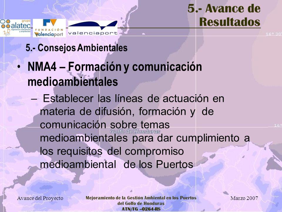 NMA4 – Formación y comunicación medioambientales