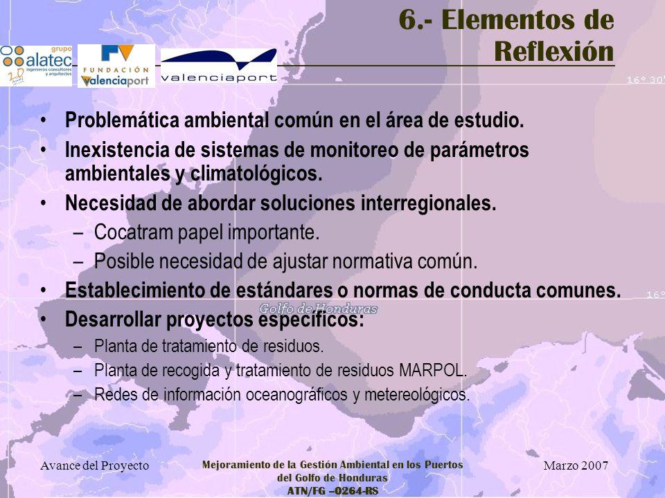 6.- Elementos de Reflexión