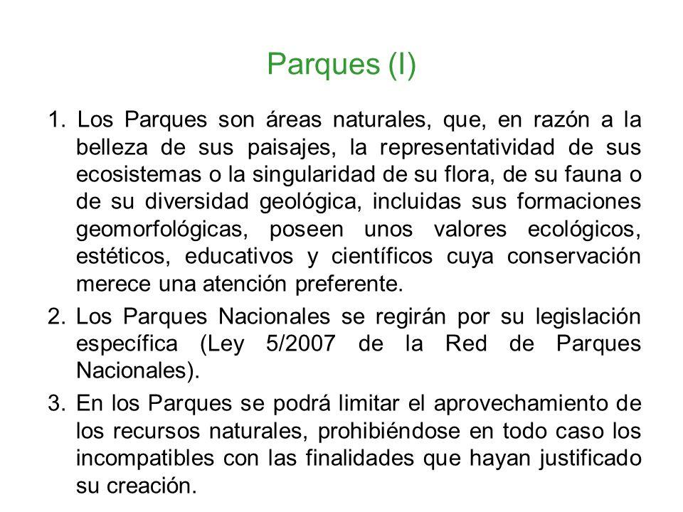 Parques (I)