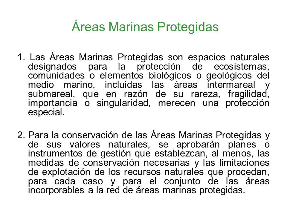 Áreas Marinas Protegidas