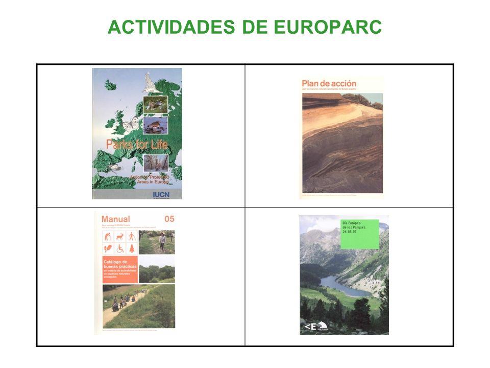ACTIVIDADES DE EUROPARC