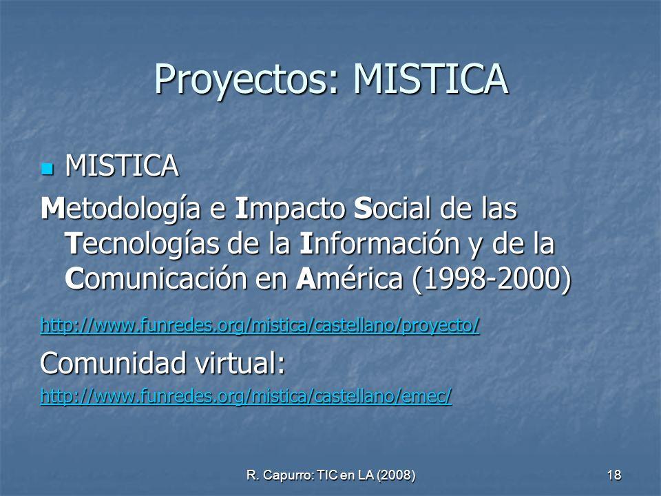 Proyectos: MISTICA MISTICA