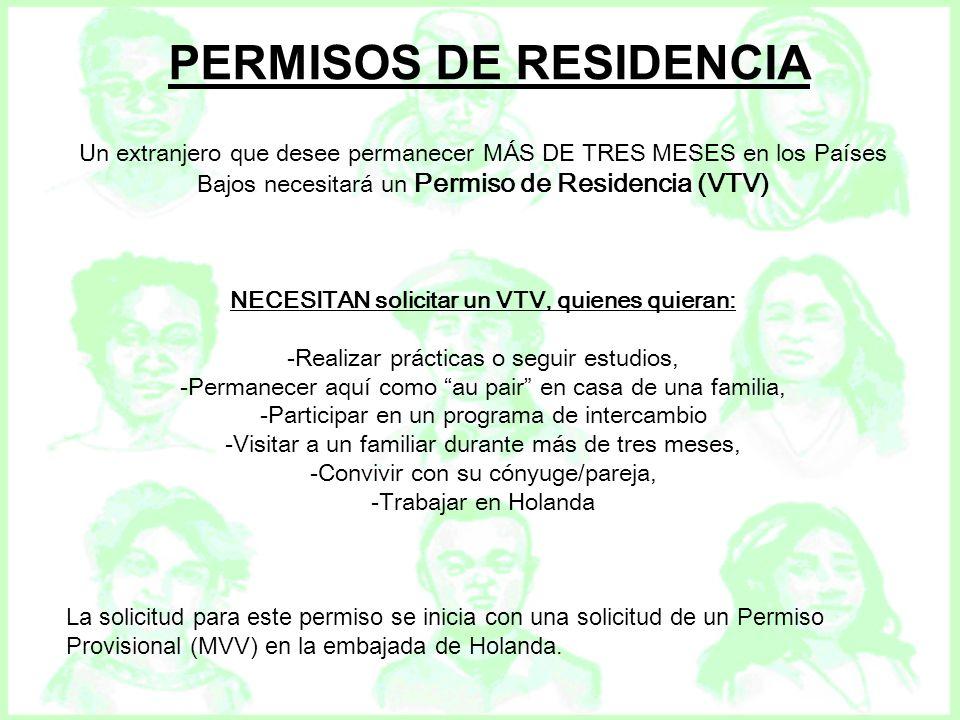 PERMISOS DE RESIDENCIA NECESITAN solicitar un VTV, quienes quieran: