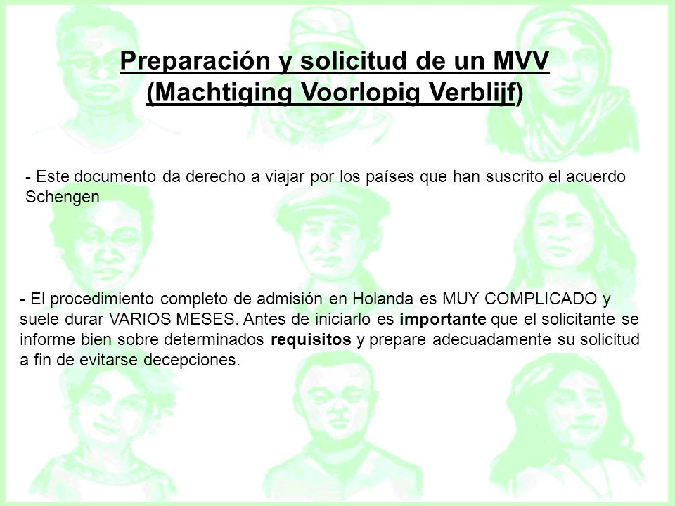 Preparación y solicitud de un MVV (Machtiging Voorlopig Verblijf)
