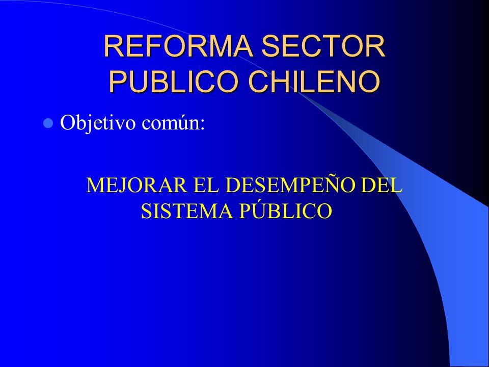 REFORMA SECTOR PUBLICO CHILENO