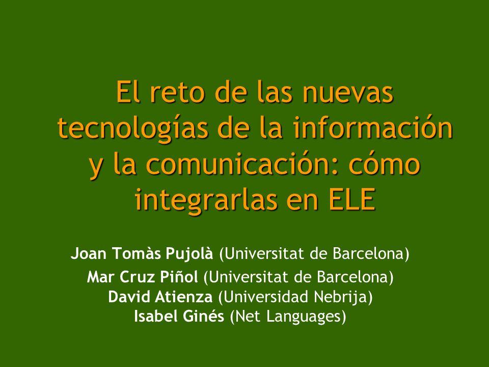 Joan Tomàs Pujolà (Universitat de Barcelona)