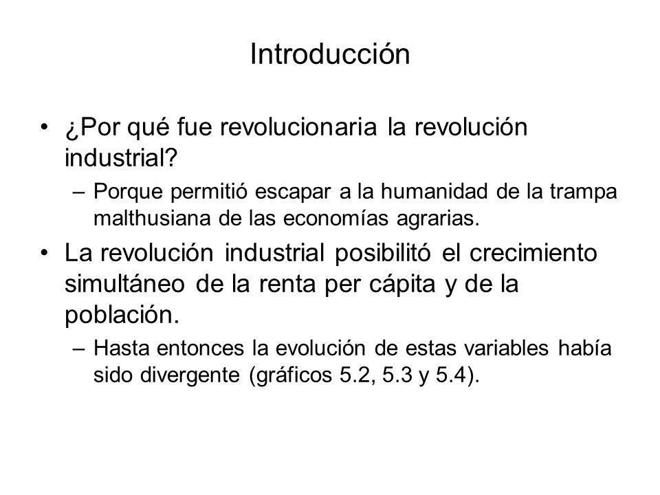 Introducción ¿Por qué fue revolucionaria la revolución industrial
