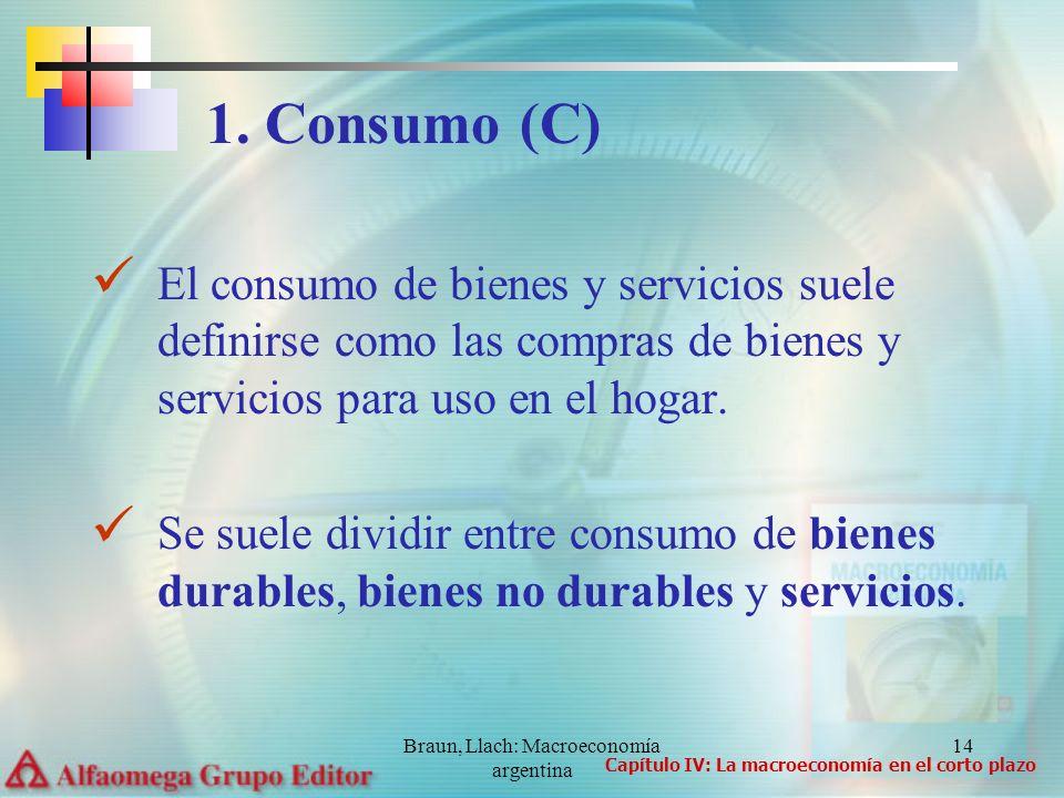 Braun, Llach: Macroeconomía argentina