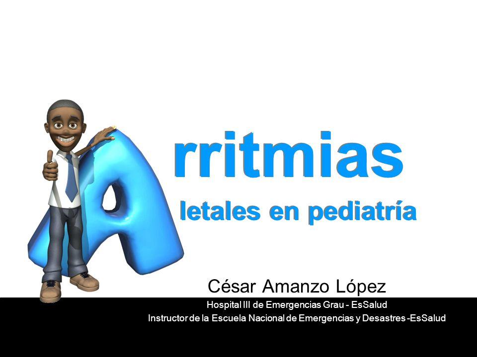 rritmias letales en pediatría