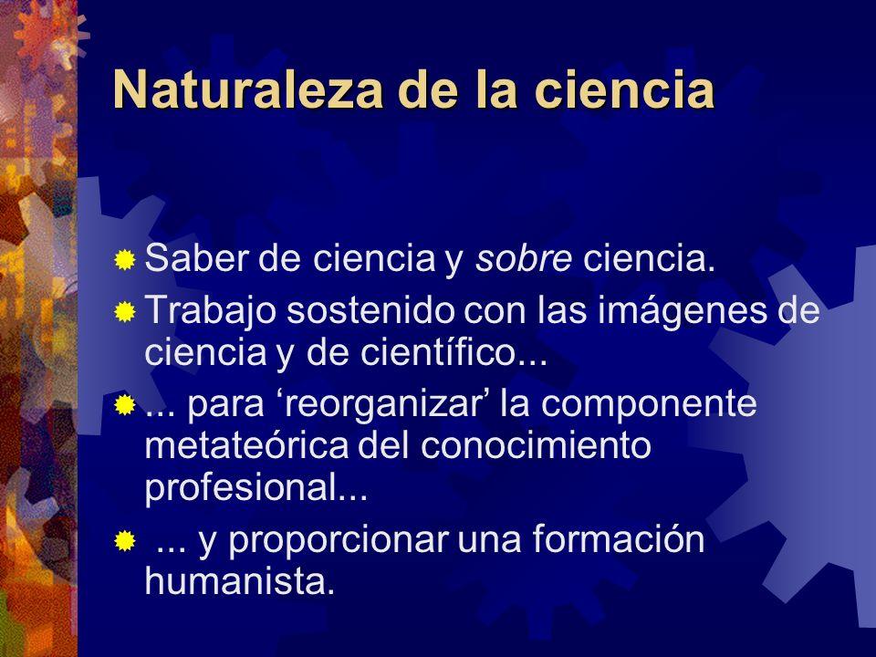 Naturaleza de la ciencia
