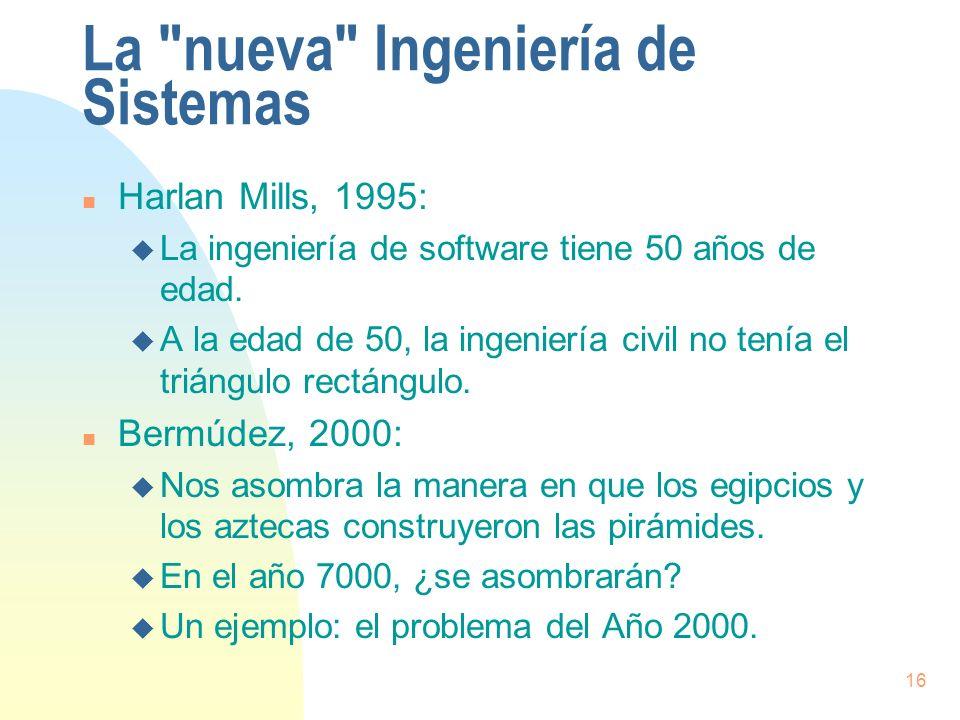 La nueva Ingeniería de Sistemas