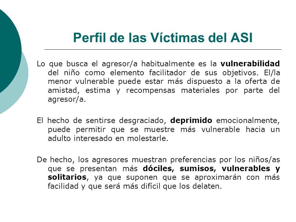 Perfil de las Víctimas del ASI