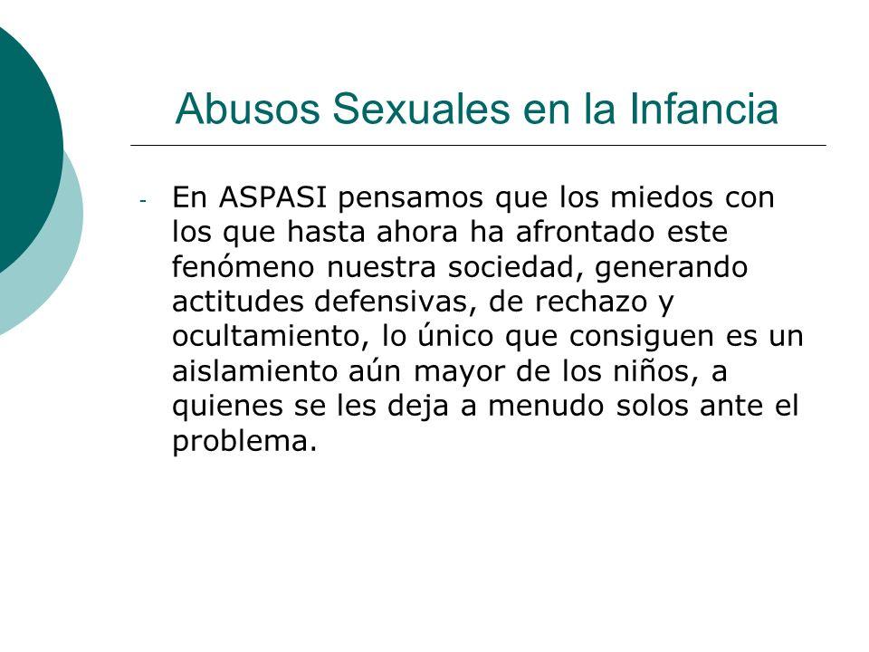 Abusos Sexuales en la Infancia