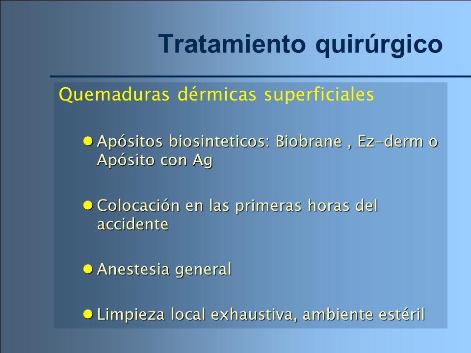 Tratamiento quirúrgico