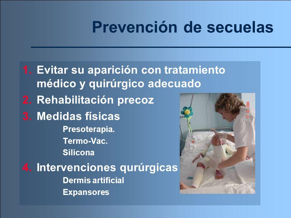 Prevención de secuelas