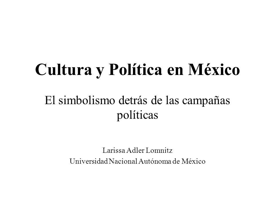 Cultura y Política en México