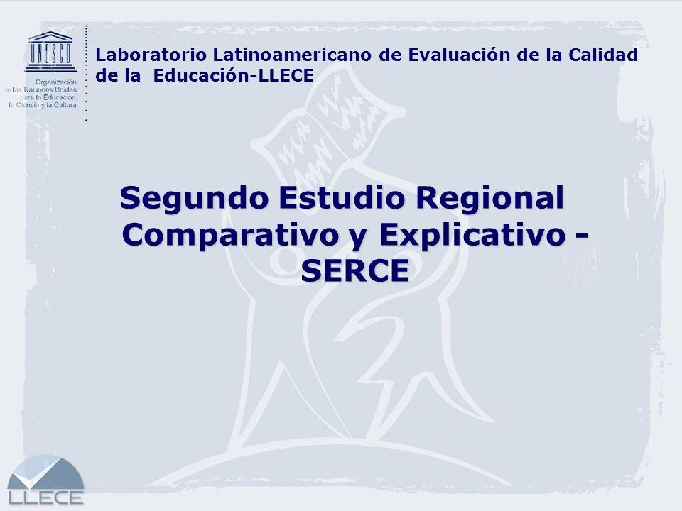Segundo Estudio Regional Comparativo y Explicativo - SERCE