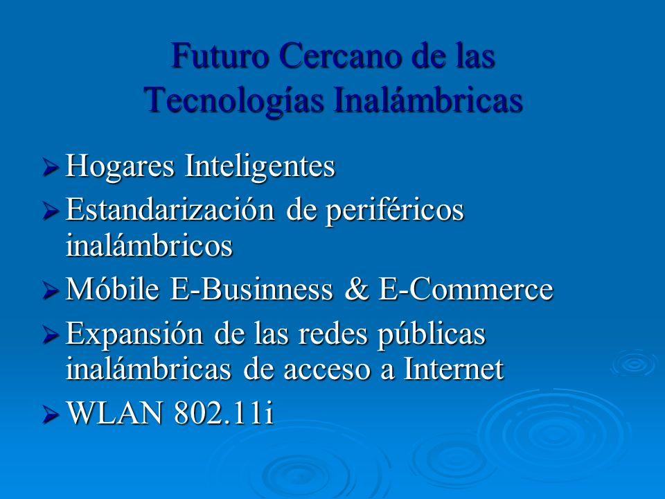 Futuro Cercano de las Tecnologías Inalámbricas