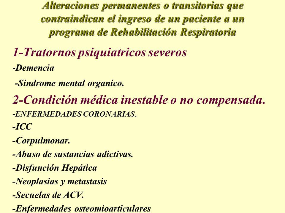 1-Tratornos psiquiatricos severos