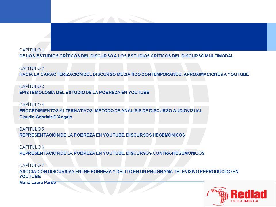 CAPÍTULO 1DE LOS ESTUDIOS CRÍTICOS DEL DISCURSO A LOS ESTUDIOS CRÍTICOS DEL DISCURSO MULTIMODAL. CAPÍTULO 2.