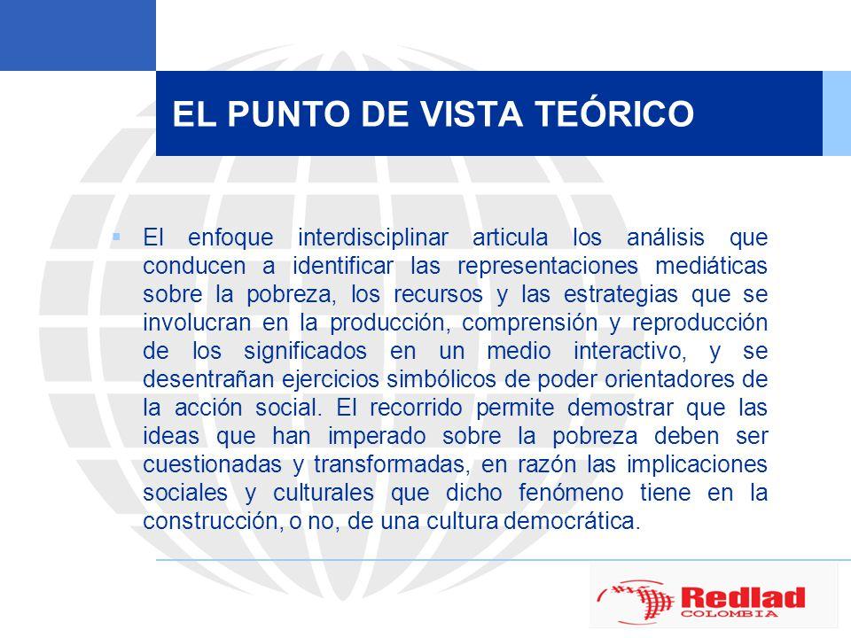 EL PUNTO DE VISTA TEÓRICO