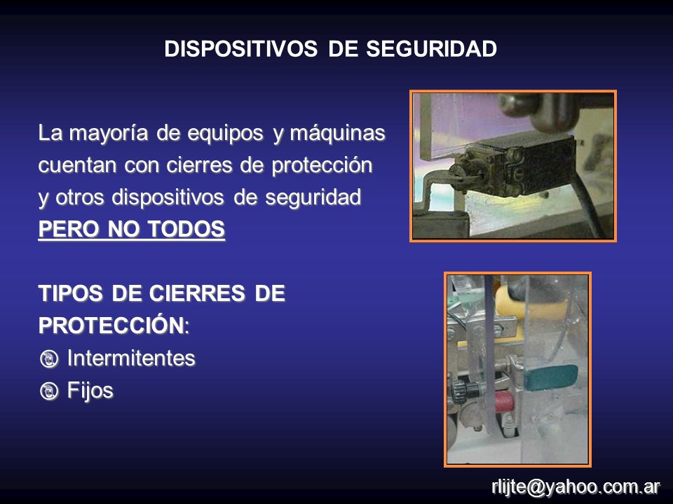 DISPOSITIVOS DE SEGURIDAD